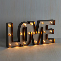 40s My Light in Shining Amour Lamp by ModCloth