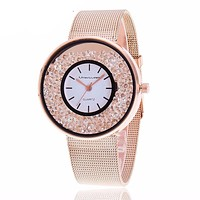 Women's Luxury Gold & Silver Watch