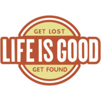 Get Lost Get Found Die Cut Sticker|Life is good