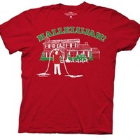 Christmas Vacation Hallelujah Adult Red T-Shirt - National Lampoon's Christmas Vacation - | TV Store Online