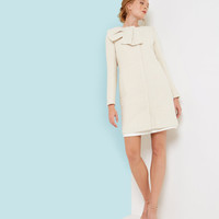 Large bow coat - Cream | Jackets & Coats | Ted Baker UK