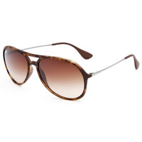 Ray-Ban Alex Sunglasses Tortoise One Size For Men 25243740101