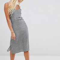 Glamorous check cami dress at asos.com