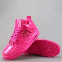 Nike Air Jordan 4 Retro Fashion Casual Sneakers Sport Shoes