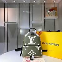 Kuyou Gb29726 Lv Louis Vuitto Monogram Handbags Monogram Bags Palm Springs Backpack 05 Pm M41560 21*31*10cm