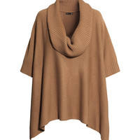 Knit Poncho - from H&M