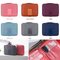 Travel Cosmetic Make up Toiletry Holder Beauty Wash Organizer Storage Purse Bag
