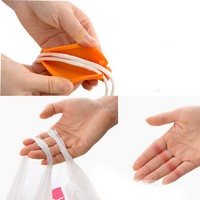 New arrival convenient bag hanging quality mention dish carry bags Kitchen Gadgets Silicone kitchen accessories save effort