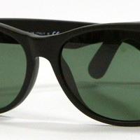 Cheap Ray Ban 2132 622 Matte Black Sunglasses 55mm New and Authentic