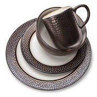 Threshold™ Barnet Bronze 16 piece Dinnerware Set : Target