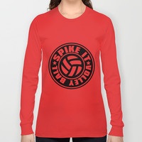 Spike_It_Volleyball Long Sleeve T-shirt by AURA-HYSTERICA