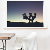 Catherine McDonald Sunset at Joshua Tree Art Print And Hanger | Deny Designs