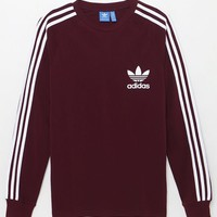 adidas 3-Stripes Pique Long Sleeve T-Shirt at PacSun.com