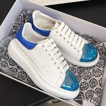 Alexander McQueen  Classic quicksand casual shoes