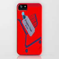 Poppin Tags-Thrift Shop Song-Macklemore iPhone Case by Laura Santeler | Society6