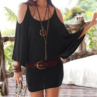 womens strapless black dress gift 21