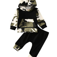 Camouflage  Baby Boy clothes Set
