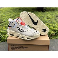 Air More Uptempo X Off White Shoes 36 46