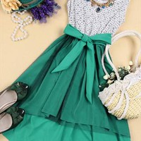 070303 Lace sleeveless vest bottoming dress from cassie2013