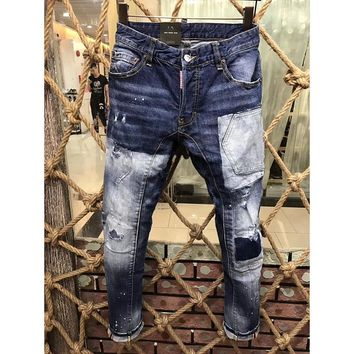 Dsquared2 Fashion Casual Pants Trousers Jeans-5