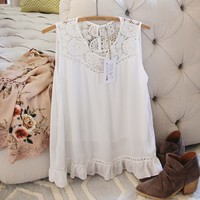 Icicle Lace Layering Top