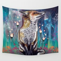 There is a Light Wall Tapestry by Mat Miller | Society6
