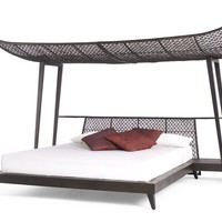 Oriental style canopy bed IMA by KENNETH COBONPUE | design Kenneth Cobonpue