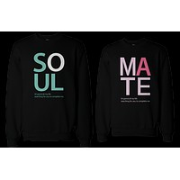 Soulmate Matching Couple Sweatshirts (Set)