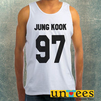 Jungkook 97 Clothing Tank Top For Mens