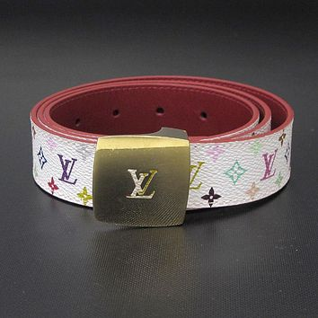 [Free Shipping] [Pre-Owned] Auth Louis Vuitton Belt #:25021529