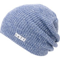 Neff Daily Heather Blue & White Beanie  at Zumiez : PDP
