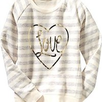 Girls Graphic Sweatshirts