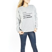 CREWNECK - The Power Of A Woman