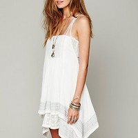 Free People FP ONE Embroidered Poncho Dress
