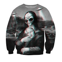 Alien Lisa Sweatshirt