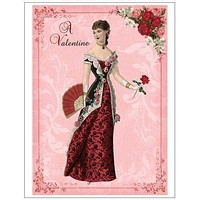 Set of 8 Victorian Valentine's Day Post Cards