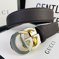 Gucci hot sale classic fashion men's and women's belt