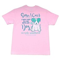 Youth Preppy Plans Tee by Simply Southern