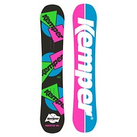 All Mountain Snowboard - Kemper Freestyle 1989/90 Black