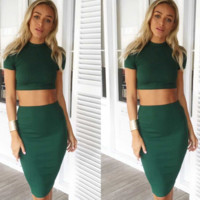 Clarissa Green Two-Piece