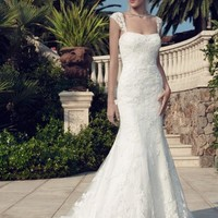 Casablanca Bridal 2144 Lace A-Line Wedding Dress