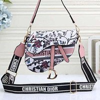 DIOR SADDLE BAG ladies shopping shoulder bag messenger bag