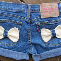 Low Waist Bow Shorts