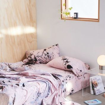 Riverside Tool & Dye UO Exclusive Hand-Dyed Sheet Set   Urban Outfitters
