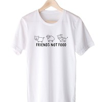 Friends Not Food - Tee