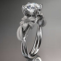 AMAZING 3.80CT WHITE ROUND 925 WHITE STERLING SILVER ENGAGEMENT AND WEDDING RING