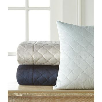 Liberty Quilted Velvet Shams by Legacy Home