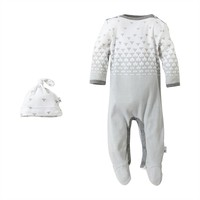 Burt's Bees Baby Organic Ombre Coverall - Baby Neutral, Size: