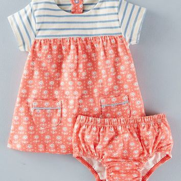 Mini Boden 'Hotchpotch' Cotton Jersey Dress (Baby Girls & Toddler Girls) | Nordstrom