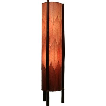 Hue Floor Lamp Burgundy Finish